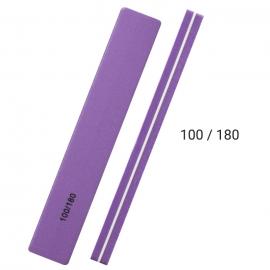 Pulidor 100/180 para pulido de uñas de gel, acrílico, acrygel, esmaltado semipermanente