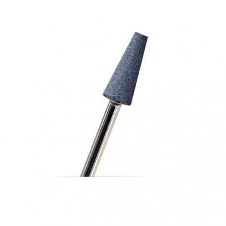 Fresa cono de corundo para manicura / pedicura con torno y combinada (rusa). Número: 8146