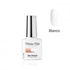 Esmalte semipermanente Modena Nails. 7,3ml. Color: blanco. Número: 001