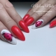 Esmalte semipermanente Modena Nails. 7,3ml. Color: rojo neon