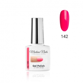 Esmalte semipermanente Modena Nails. 7,3ml. Color: rosa neon. Número: 142