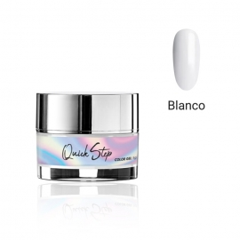 Painting gel Quick Step Modena Nails. 5g. Color: blanco