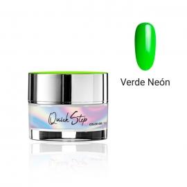 Painting gel Quick Step Modena Nails. 5g. Color: Verde neón