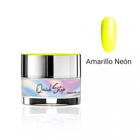 Painting gel Quick Step Modena Nails. 5g. Color: Amarillo neón