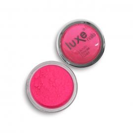 Polvo acrílico Luxe Nails. Color: rosa neon. 6gr.