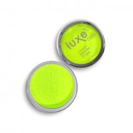 Polvo acrílico Luxe Nails. Color: amarillo limon. 6gr.
