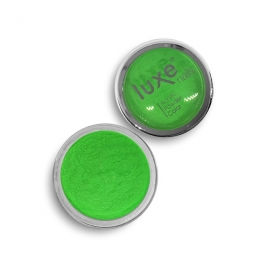 Polvo acrílico Luxe Nails. Color: verde neon. 6gr.
