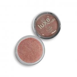 Polvo acrílico Luxe Nails. Color: rojo marrón purpurina. 6gr.