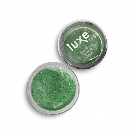 Polvo acrílico Luxe Nails. Color: verde purpurina. 6gr.