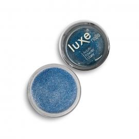 Polvo acrílico Luxe Nails. Color: azul purpurina. 6gr.