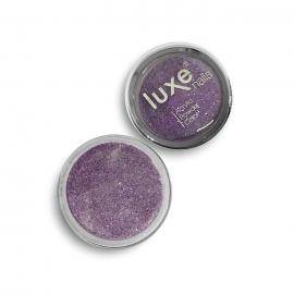 Polvo acrílico Luxe Nails. Color: morado purpurina. 6gr.
