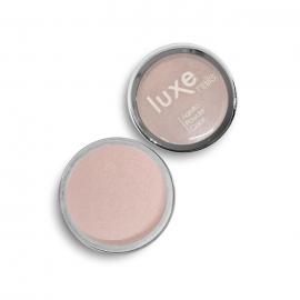 Polvo acrílico Luxe Nails. Color: rosa pastel metalizado. 6gr.