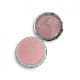 Polvo acrílico Luxe Nails. Color: rosa metalizado. 6gr.
