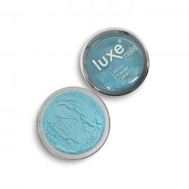 Polvo acrílico Luxe Nails. Color: azul claro metalizado. 6gr.
