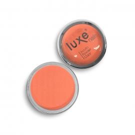 Polvo acrílico Luxe Nails. Color: naranja con purpurina. 6gr.