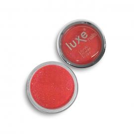 Polvo acrílico Luxe Nails. Color: fresa con purpurina. 6gr.