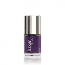 Esmalte tradicional para uñas Luxe Nails. Color: morado. 9ml