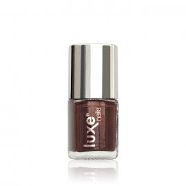 Esmalte tradicional para uñas Luxe Nails. Color: marrón. 9ml