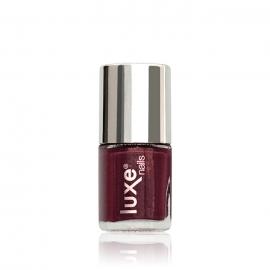 Esmalte tradicional para uñas Luxe Nails. Color: vino. 9ml
