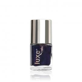 Esmalte tradicional para uñas Luxe Nails. Color: azul morado. 9ml