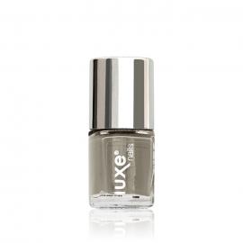 Esmalte tradicional para uñas Luxe Nails. Color: gris. 9ml