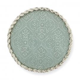 Expositor para tips nail-art con fondo de color azul claro