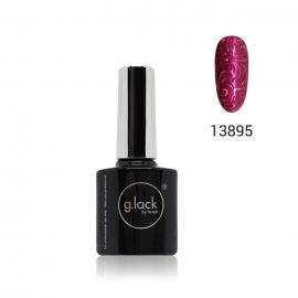 Esmalte semipermanente G. Lack Luxe Nails (número: 13895). Color: fucsia metalizado. 8ml.