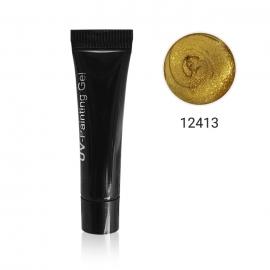 Gel paint LED/UV Luxe Nails. Color: dorado. 5ml
