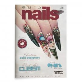 Revista de uñas con paso a paso Euro Nails. Edición 8