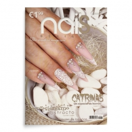 Revista de uñas con paso a paso Nails design. Edición 7