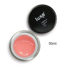 Gel constructor rosa semitransparente Luxe Nails (clear pink). 50ml