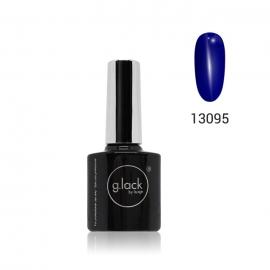 G. Lack Luxe Nails. Esmalte semipermanente. Color 13095 (azul electrico) 8ml.