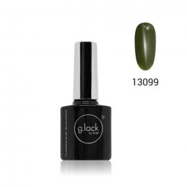 G. Lack Luxe Nails. Esmalte semipermanente. Color 13099 (verde oliva militar) 8ml.