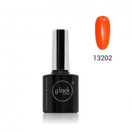 G. Lack Luxe Nails. Esmalte semipermanente. Color 13202 (naranja neon) 8ml.