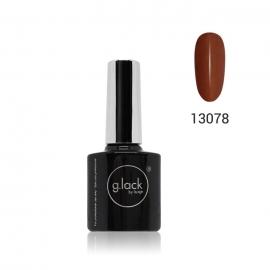 Esmalte semipermanente G. Lack Luxe Nails. Color: marron claro. 8ml.