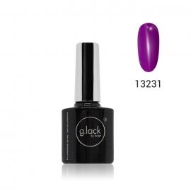 Esmalte semipermanente G. Lack Luxe Nails. Color: lila neon. 8ml.