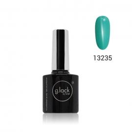 Esmalte semipermanente G. Lack Luxe Nails. Color: turquesa. 8ml.