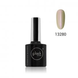 Esmalte semipermanente G. Lack Luxe Nails. Color: blanco perlado. 8ml.