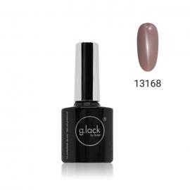 Esmalte semipermanente G. Lack Luxe Nails (número: 13168). Color: café con leche oscuro. 8ml.