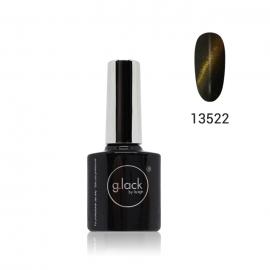 Finalizador Lack Gel Luxe Nails «Ojo de gato». Color: dorado. 8ml.