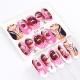 Calcomanías de agua para uñas. Decoraciones manicura. Sexy pop nail stickers