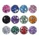 Caja de brillantes de 12 diferentes colores para decoración de uñas