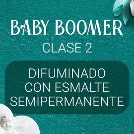 Vídeo curso «Baby Boomer» con Yuliya Novikava. Clase 2. Difuminado con Esmalte Semipermanente