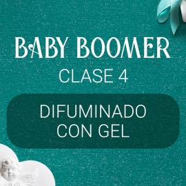 Vídeo curso «Baby Boomer» con Yuliya Novikava. Clase 4. Difuminado con Gel