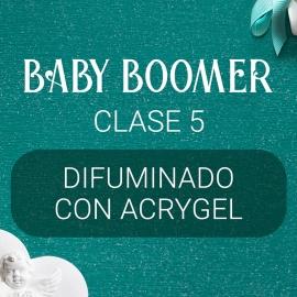 Vídeo curso «Baby Boomer» con Yuliya Novikava. Clase 5. Difuminado con Acrygel